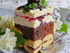Vegan Ramen, Polish Recipes, Polish Food, Ramen Noodles, Baked Goods, Ale, Raspberry, Cheesecake, Good Food