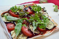Skinny Six: Filopizza met gegrilde aubergine