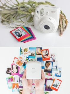 For some variety in your photo booth check out Fuji's Rainbow Mini Film - exactly like your Mini Film but with a splash of color. Instead of the classic white border, this film boasts a colorful gradient border. No two prints are the same!