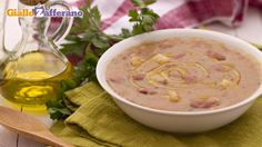 Zuppa di patate e borlotti - New Ideas Best Dinner Recipes, Whole Food Recipes, Soup Recipes, Chicken Recipes, Healthy Recipes, Healthy Food, Pasta E Fagioli, How To Cook Beans, Soups