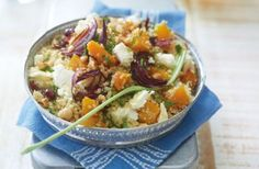 Couscous, Butternut  Feta Salad - Old Style  Favourite South-African Recipes