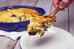 Spinach-Artichoke Scalloped Potatoes Recipe Recipe