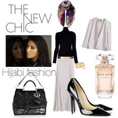 """The NEW chic Hijabi fashion"" by belawiyah on Polyvore"
