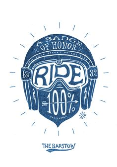 ride 100%, the barstow, bmd design