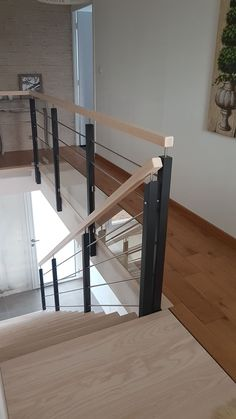 Stair Railing Design, Home Stairs Design, Escalier Design, House Stairs, Building A House, Pose, Sweet Home, Interior, Furniture