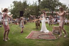 – Girls of honour Hula, Boho Wedding, Wedding Day, Wedding Stuff, Glamping Weddings, Carnival Wedding, Carnival Festival, Let's Get Married, Festival Wedding