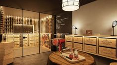 Ausbau Weinkeller In Vino Veritas, Wine Cellar, Divider, Interior Design, Room, Furniture, Dresden, Home Decor, Decoration