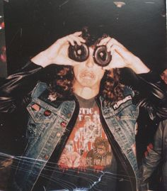 Chuck Schuldiner takes life very seriously.