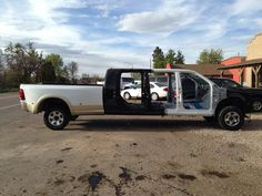 Six Door F650 with Kelderman removable bed | F650 Pickups ...
