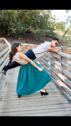 Keone Madrid and Mari Martin Madrid are my tel favorite Christian dancers :)