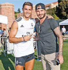 Cristiano Ronaldo, David Beckham, Real Madrid