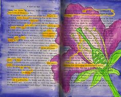 Pollen PAGE ART found poem
