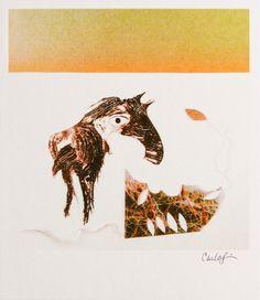 Print  Sunrise Horse by carlasonheim on Etsy