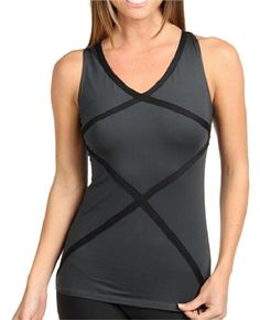 f1c7a18ad2a3 Black Hourglass Racerback Yoga Pilates Shaping 1214 Medium Activewear Top.  Tradesy