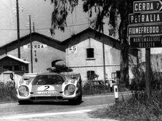 Hans Herrmann / Vic Elford, #2 Porsche 917K (Porsche Konstruktionen GmbH), Targa Florio 1970 (Test Car DNS)
