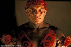 Kalapalo Indigenous People, Xingu, Amazon rainforest, Brazil.