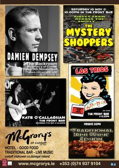 Events at McGrory's of Culdaff