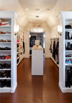 Custom Walk In Closet By South Shore Cabinetry, Vancouver Island, BC  #walkincloset