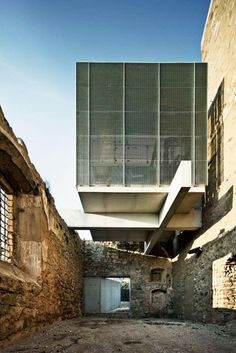 Renovation of the convent of Sant Francesc in Santpedor, Spain. By David Closes.