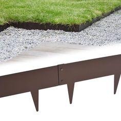 Des bordures souples en acier pour une finition au carré. Les graviers envahissent la pelouse, les massifs débordent dans les allées nos bordures de...