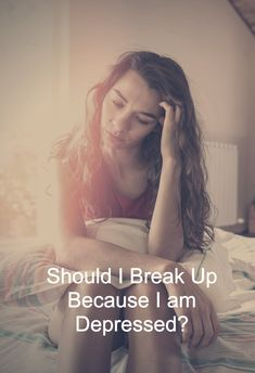 """Should I break up because I am depressed? Mental illness is an """"illness"""", it is not who you are. It is not a part of your soul, it is a part of your mind and it will heal over time. When you're in a relationship, you're with your partner through the good and the bad, in sickness and in health. . . . #relationship #quote #love #couple #quotes Deep Relationship Quotes, Couple Quotes, Mental Illness, Depressed, Breakup, Sick, Healing, Mindfulness, Couples"""