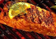 Waterfall Resort's Grilled Salmon with Alyeska BBQ Sauce