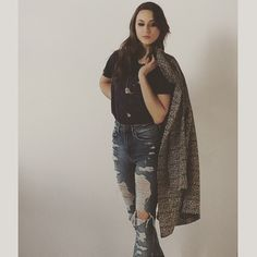#BecomeWithUs #PLL Troian Bellisario! Love this outfit