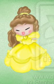 Pucca as Belle