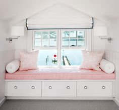 White and pink bed Live a luscious life with LUSCIOUS: www.myLusciousLife.com