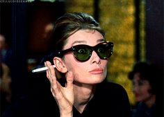 When she was shocked. | 17 Times Audrey Hepburn Set The Bar Too High
