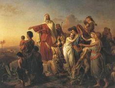 Con la décima plaga lanzada por Dios contra los perseguidores de Israel, no había una casa de los egipcios donde no se llorase la muerte de un hijo; pero ...