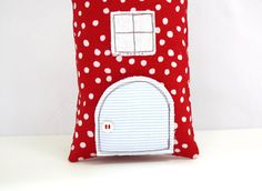 Tooth Fairy Pillow House Stuffed Toy Pillow Girls by AppleWhite, $24.00