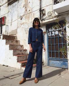 "7,031 Likes, 85 Comments - María Bernad (@maria_bernad) on Instagram: ""White shirt, blue jeans @levis_spain"""
