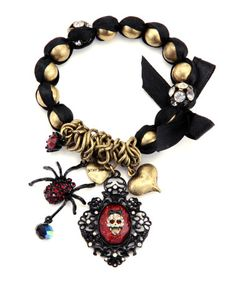 Skull Gem bracelet - $55.00 at betseyjohnson.com