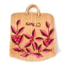 Acapulco Straw Bag