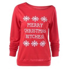 SHARE & Get it FREE | Merry Christmas Bitches Graphic SweatshirtFor Fashion Lovers only:80,000+ Items • FREE SHIPPING Join Twinkledeals: Get YOUR $50 NOW!