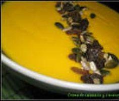 Crema de calabaza y zanahoria by asj on www.recetario.es