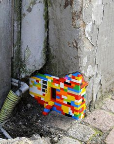 Lego corner, Warsaw, Poland (Jan Vormann)