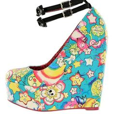 Iron Fist Over the Rainbow Wedges
