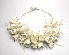 Paper and fiber jewelry created by Ana Hagopian is a wondrous feast for the eyes. Texture and color dominate her work. It's very easy t...