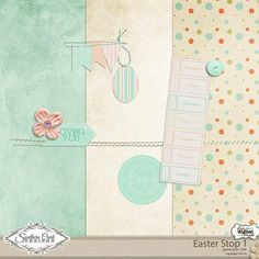 Easter tiny kit freebie from Southern Creek Designs