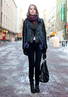 Noora - Hel Looks - Street Style from Helsinki
