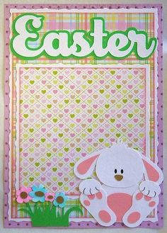 easter scrapbook layouts - Google Search