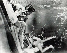 Rodger Woodward being saved in 1990. Niagara Falls History 8/15