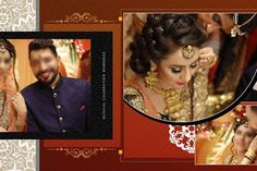 fee 05 New 2018 Wedding Album Design PSD Sheets with fully editable and completely ready for use especially for creating wedding photo album design. Wedding Album Layout, Wedding Album Design, Wedding Photo Albums, Wedding Photos, Photo Album Covers, Photo Editing, Photoshop, Backgrounds Free, Weddings
