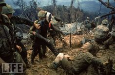 Via Life magazine-- Vietnam War. This one really gets to me.