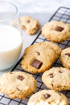These gluten free, dairy free, egg free almond cookies are chewy and delicious. So much flavor in every bite, you won't believe how good they are!