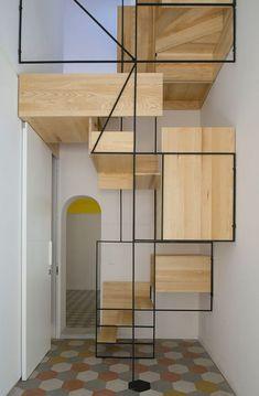 Hipnotize Edici ve Modern 21 Ev İçi Merdiven