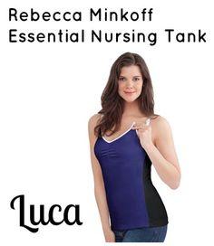995e07cdaf Rebecca Minkoff for Bravado Designs Essential Nursing Tank Luca Nursing Tank