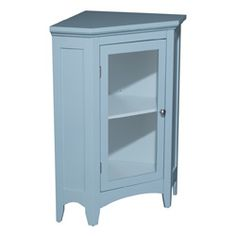 Web Photo Gallery  Allendale Corner Floor Cabinet with Door